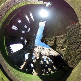 Tintern Abbey, beautiful day. Taking commissions. Artist exploring romanticism and picturesque in 360 #theta360 #theta360uk