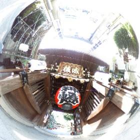 福岡博多の櫛田神社にて。 #theta360