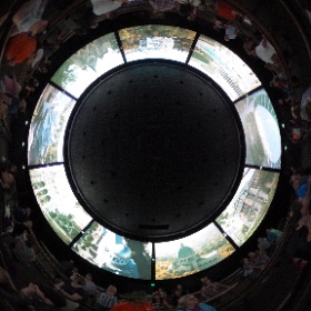 This is pretty dang meta....a Theta 360° shot inside of the OG 360°, 'Circle-Vision' at Epcot!  (Look Mom...after all these years, I can finally appreciate 'Circle-Vision'!)   @greggkatano