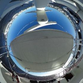 70' Hatteras Flybridge #theta360