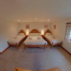'Woodside' Family room. Riverside Cottages, High Bentham. #theta360 #theta360uk