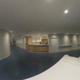 新棟3階 しらさぎ病棟 中央ホール #theta360