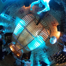 James DJing a surprise set at his sisters wedding #theta360