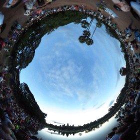 Angkor Wat, Cambodia, Sunrise #theta360