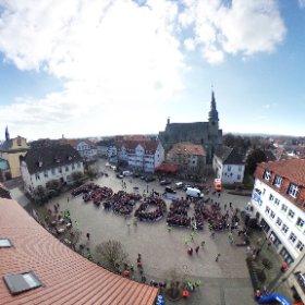 Volksbank Hellweg Friedens Challenge in Werl #theta360