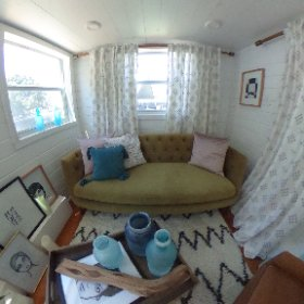 #HomeAwayACL #tinyhome in the @HomeAway backstage lounge at ACL Music Festival #theta360