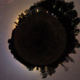 I took this 360 image last night.  You can view it in your virtual reality device. #theta360