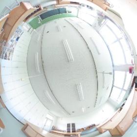 弘前医療福祉大学 木工金工陶工室 #theta360