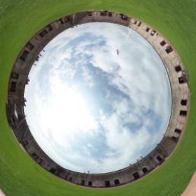 fort Macon north Carolina.  #theta360