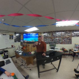 VR 360 Camera shot from class today in digital media class!