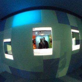 """""""La belle vie numérique"""" expo à la Fondation EDF. #theta360 #theta360fr"""