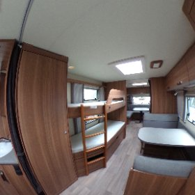 Weinsberg 740 UDF Caraone 2018. Sleeping quarters 360 photo. https://www.pirancaravansales.co.uk/452-weinsberg-caraone-seasonal-pitch #caravanforsale