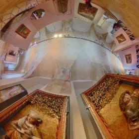 Výstava Čechy-Sasko. Jak blízko tak daleko.    Sledování pozitivního propojení obou regionů voblasti umění od pravěku po současnost je předmětem aktuální výstavy ve Šternberském paláci na Hradčanském náměstí vPraze. Foto: Petr Šálek #theta360