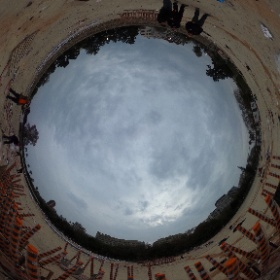 Europla set up for Nit de Foc #falles2016 #theta360 #theta360uk