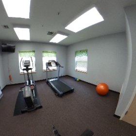 Colaw Hall Fitness Room
