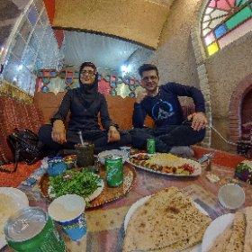 Kerman Restaurant Simin Dokht #theta360