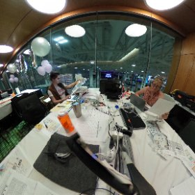 Badass Production Ladies Marci and Lynn #theta360