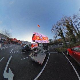 B&Q 360 sphere Hedge End Southampton  #theta360 #theta360uk