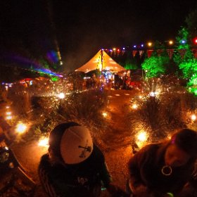 De Lievelinge #360 #vr #party #lights #camping #theta360