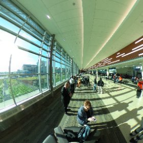 Check out the new Terminal 2 gate area in 360 degrees!