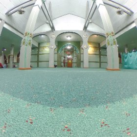 May Allah bless our journey in reaching his grace and mercy - at Masjid Besar Cipaganti #isramiraj #theta360