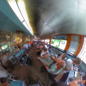 Lunch at the Town Diner. #theta360