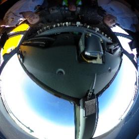 Boeing 737-800 flightdeck. #Kulula #theta360