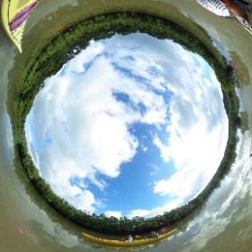 2018/09/20西表島カヌー/カヤックツアー【滝遊びと沢遊び+鍾乳洞&マングローブカヌー】