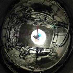 Infrarouge Kelvin font des photos 360 de puits d'accès électriques