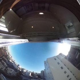 【シャトー文京】 ②南向き眺望 360°画像 東京都文京区西片1-15-19 http://www.axel-home.com/009693.html?k=2   #theta360