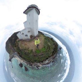 笠利崎灯台 #theta360