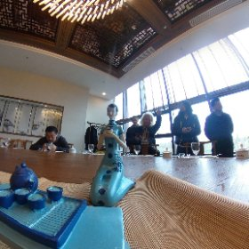 昼ごはんはまた豪華な宴席で!(◎_◎;) 安徽省食の博物館内のレストラン・・・