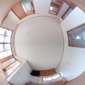 登米市木造災害公営住宅 平屋 LDK  Thetaで撮影してみました~