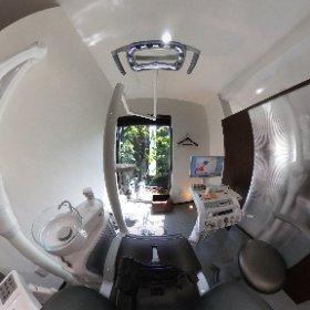 診療台(ユニット)1 #theta360