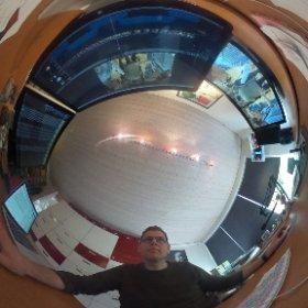 Et 360 graders view fra redigerings-sandkassen på Sofievej - der klippes VO til aftenens udsendelse på TV MIDTVEST