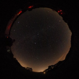 Perseid watching from Norman Lockyer Observatory Aug 12th 2021 #theta360