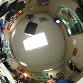 I got @aliceferris a #publicradio #pledgedrive for her birthday! Happy birthday Alice! We're celebrating at @KALW during an experiment. Just 8 days! Its the shortest campaign in the Bay Area and the shortest for @KALW in 40+ years. #theta360