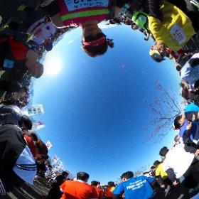 Half Marathon Start3 #theta360