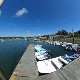 Harbour of South Bay Harbor, Maine. #theta360