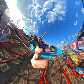 Bryan Meeks様「Roller Coaster」 Indy500 Roller Coaster at the Georgia National Fair #theta360