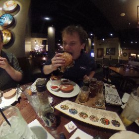 Food out with best friends. #theta360