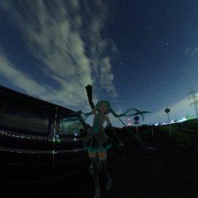 あっ!UFOだ! #UFO3d #theta360