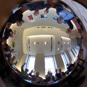 今日は理科大理窓会「天文研究部同窓会」正式登録後の初ミーティング後のお疲れ会(^.^) #theta360