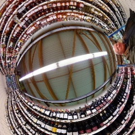 Plenty of choice at the Intermarché! #theta360