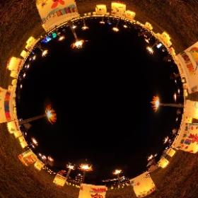 2017.09.24 飛鳥 光の回廊  石舞台会場 光のメッセージ、光の彼岸花  #石舞台 #ライトアップ #彼岸花 #光のメッセージ #飛鳥 #光の回廊   #Asuka #illumination #Lycoris #theta360