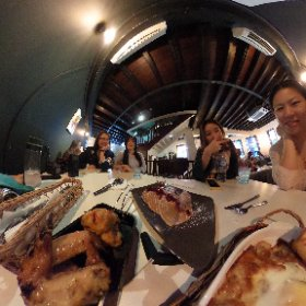 Day 1 of 2017 with my girls! #theloftcafe #firefly3d #theta360