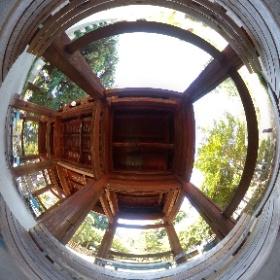 前回THETAで撮り忘れた茂林寺のキマリ&めぐっちゃんの話す場所。#よりもい #theta360
