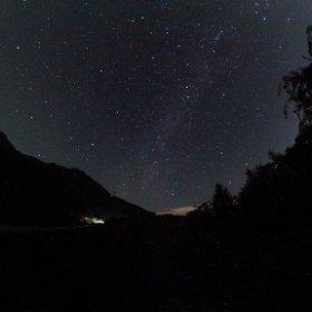 群馬県上野村「スカイブリッジ」での星空 #theta360