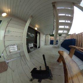 「幸せになる古宇利島の宿」テラス写真