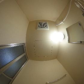 ル・ノール白石駅前Ⅱ102号室(1R・A'タイプ・モデルルーム)浴室